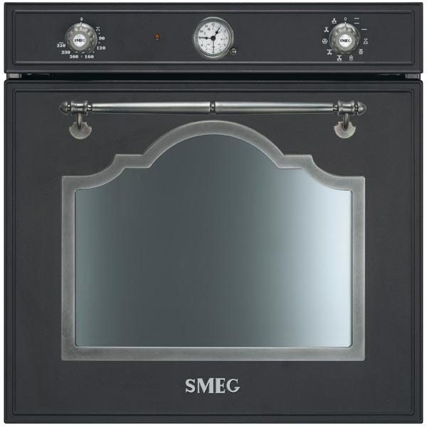 Встраиваемый электрический духовой шкаф Smeg SF750AS встраиваемый электрический духовой шкаф smeg sf 750 ao