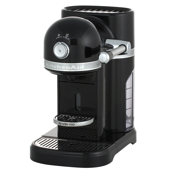 Кофемашина капсульного типа Nespresso KitchenAid Artisan 5KES0503EOB kitchenaid чугунная квадратная сковорода с прессом 25х25 см кремовая