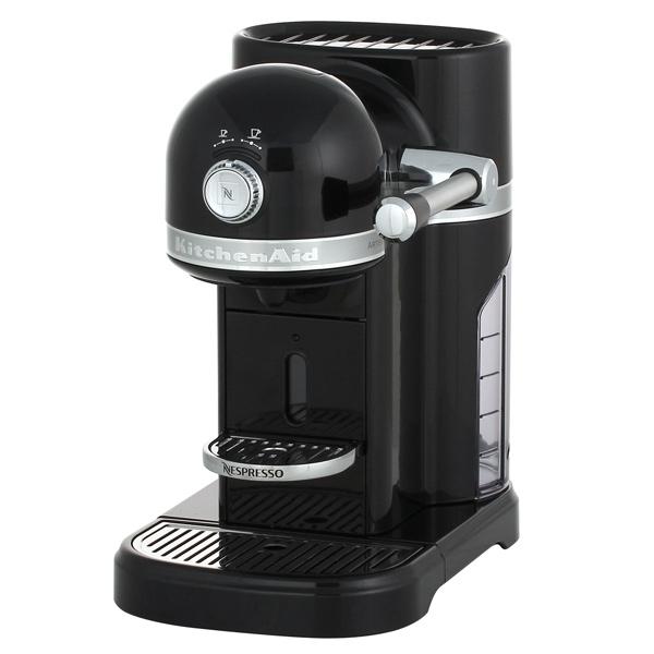 Кофемашина капсульного типа Nespresso KitchenAid Artisan 5KES0503EOB кофемашина капсульного типа nespresso kitchenaid artisan 5kes0504efp морозный жемчуг