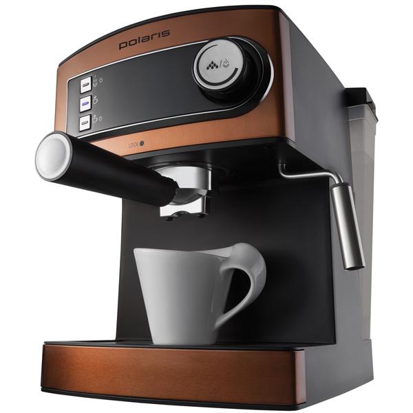 Кофеварка рожкового типа Polaris Adore Crema PCM 1515E кофеварка polaris pcm 0210 450 вт черный