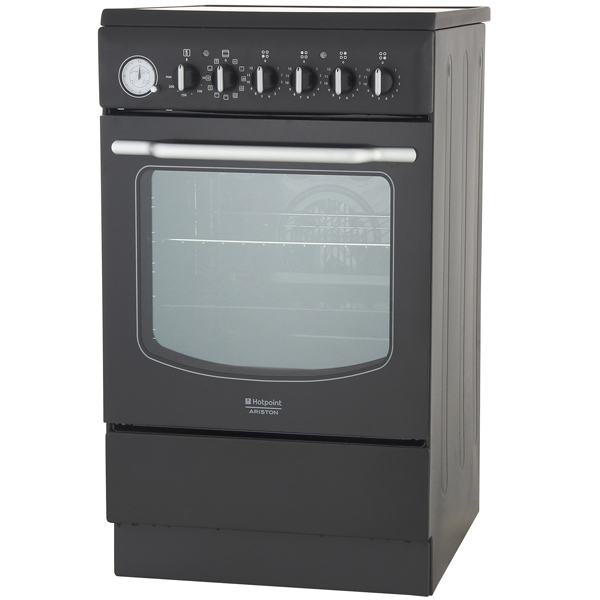 Электрическая плита (50-55 см) Hotpoint-Ariston HT5VM4A (AN) EA hotpoint ariston 7hhp 6 r an hа