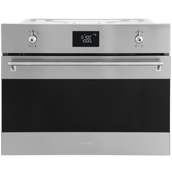 Встраиваемая микроволновая печь Smeg SF4390MX