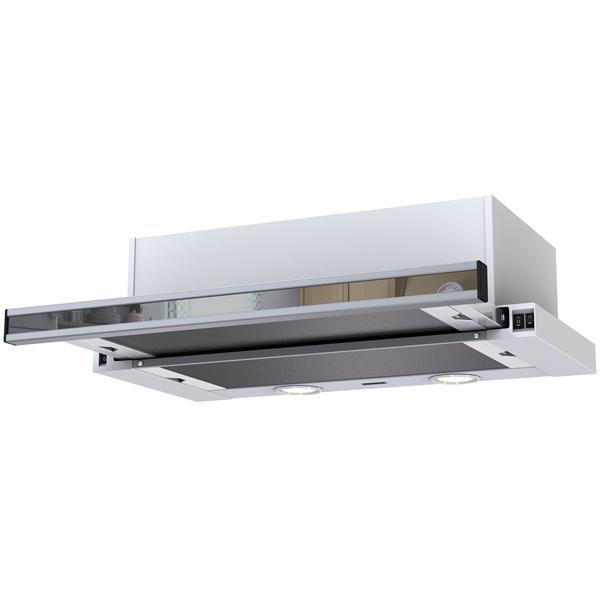 Вытяжка встраиваемая в шкаф 60 см Krona Kamilla 600 mirror (2 мотора) вытяжка 60 см krona janna 600 white