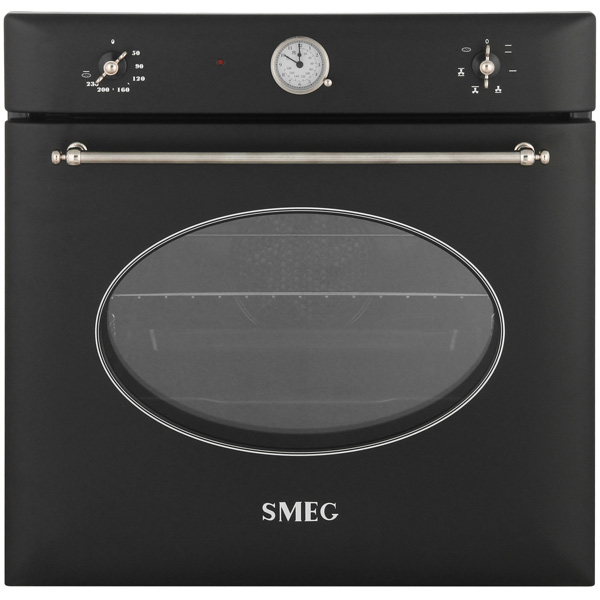 Встраиваемый электрический духовой шкаф Smeg SF850APZ встраиваемый электрический духовой шкаф smeg sf 750 ao