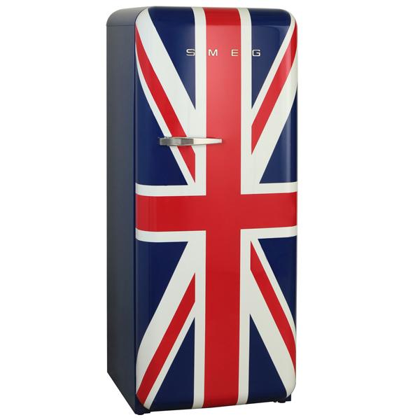 Холодильник однодверный премиум Smeg FAB28RUJ1 smeg tssr02 держатель для сэндвичей для тостеров smeg на 4 хлебца