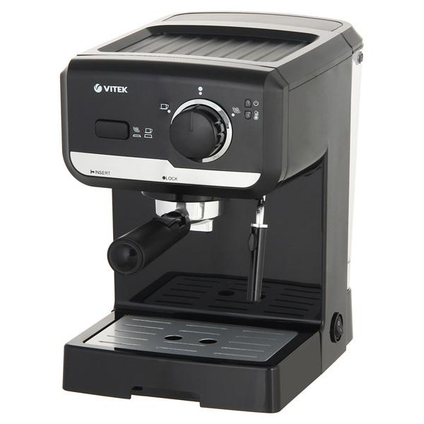 Кофеварка рожкового типа VITEK VT-1502 BK