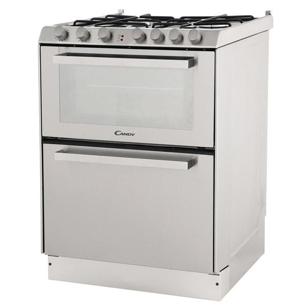 Газовая плита (60 см) с посудомоечной машиной Candy Trio 9501/1 X