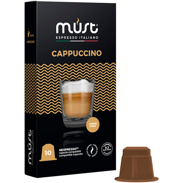 Кофе в капсулах Must Cappuccino 10 шт