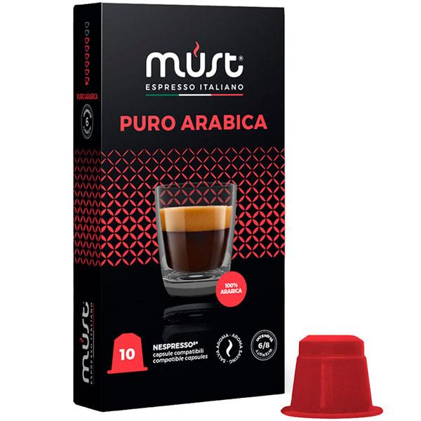 Кофе в капсулах Must Puro Arabica 10 шт