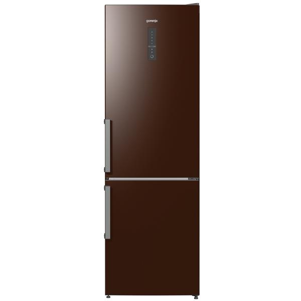 Холодильник с нижней морозильной камерой Gorenje NRK6192MCH