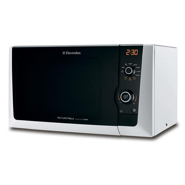 Микроволновая печь с грилем Electrolux EMS21400W микроволновая печь с грилем electrolux ems21400s