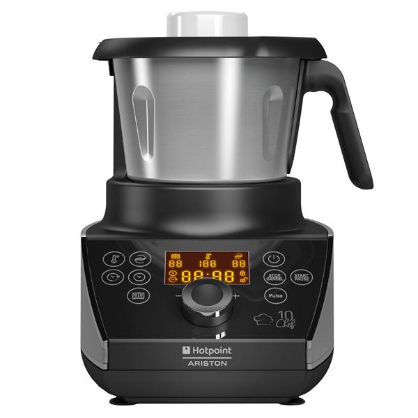 Кухонная машина Hotpoint-Ariston MC 057C AX0 кухонный комбайн hotpoint ariston km 040 ax0