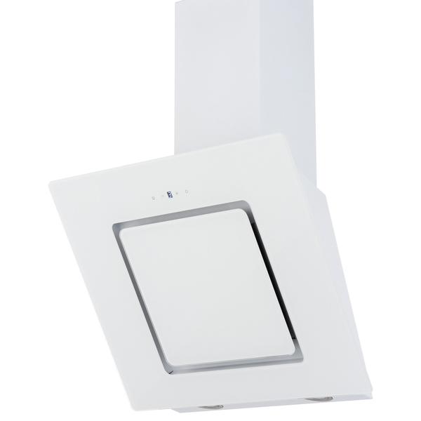 Вытяжка 60 см Krona Kirsa 600 white/white glass sensor вытяжка krona kamilla sensor 600 inox white glass