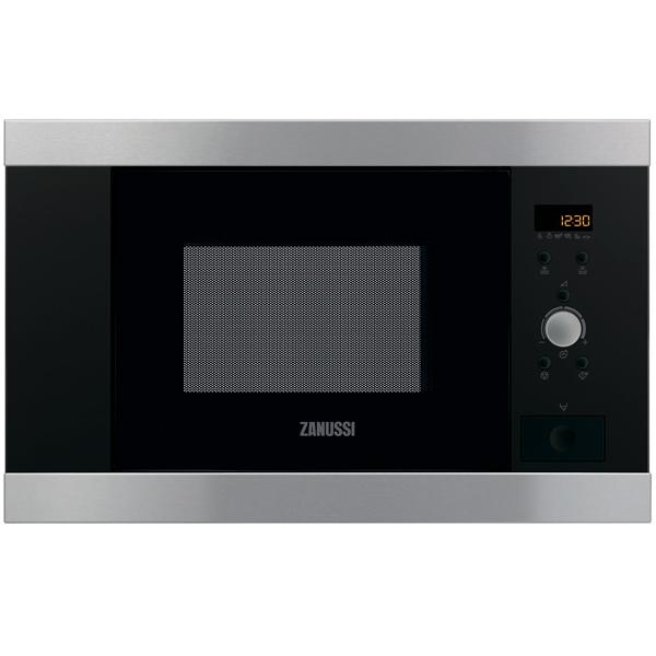 Встраиваемая микроволновая печь Zanussi ZBM17542XA микроволновая печь zanussi zfm20110wa