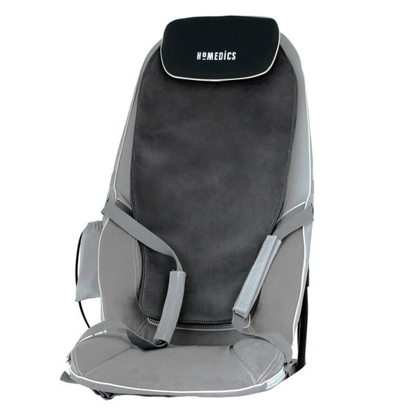 Массажер для спины с подогревом сидения Homedics BMSC-5000H-EU  массажная накидка homedics bmsc 5000h eu