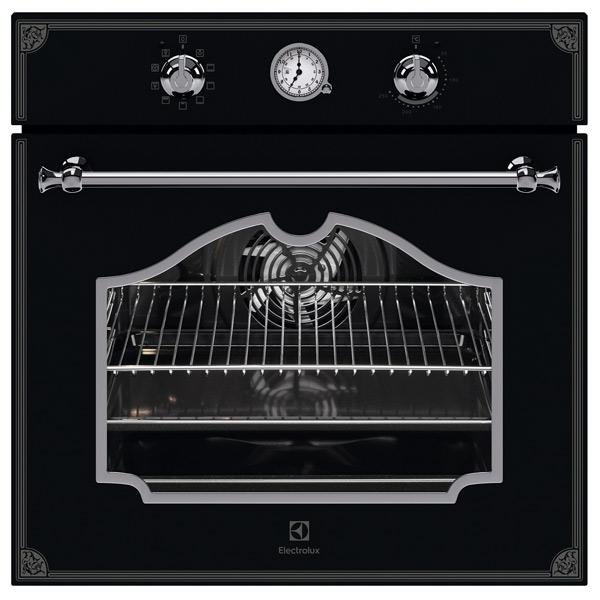 Электрический духовой шкаф Electrolux OPEB2320B черного цвета