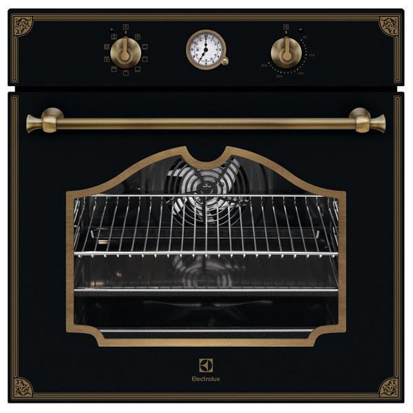 Электрический духовой шкаф Electrolux OPEB2320R черного цвета