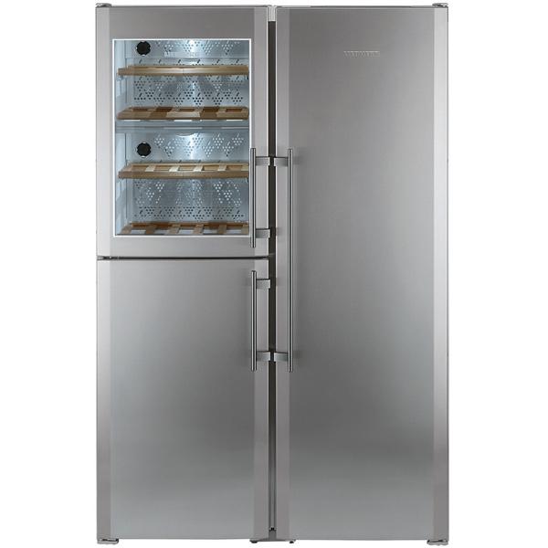 Холодильник (Side-by-Side) Liebherr SBSes 7165-22 двухкамерный холодильник liebherr cuwb 3311