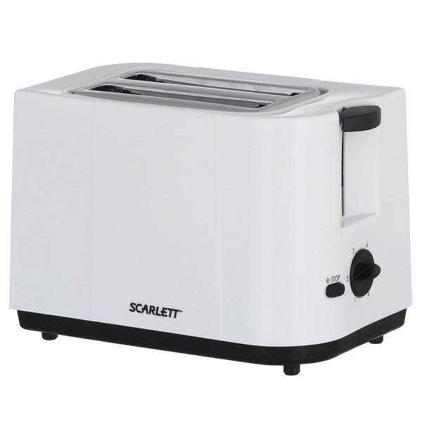 Тостер Scarlett SC-TM11008 тостер василиса тс4 700 белый с малиновым