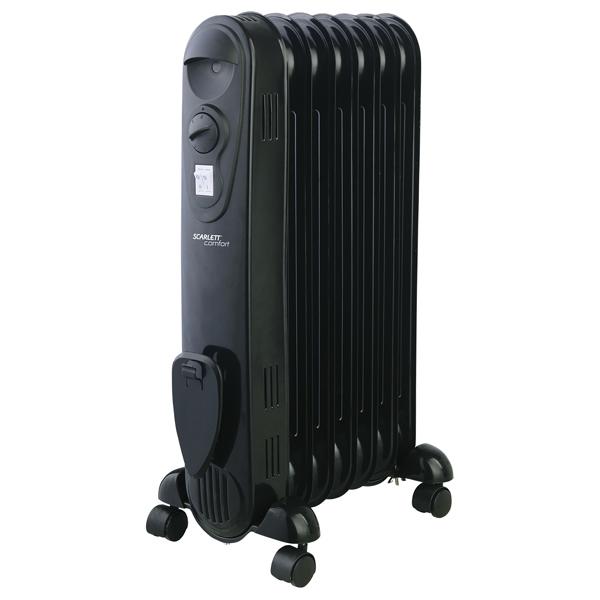 Радиатор Scarlett SC 21.1507 SB масляный радиатор scarlett sc oh67b03 9 black