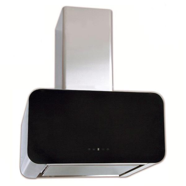 Вытяжка 60 см Elikor Карбон 60 Inox/Black Glass вытяжка elikor графит 60 stainless steel black glass