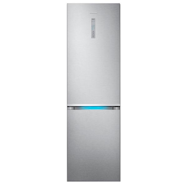Холодильник с нижней морозильной камерой Samsung RB41J7811SA двери металлические входные в алмате