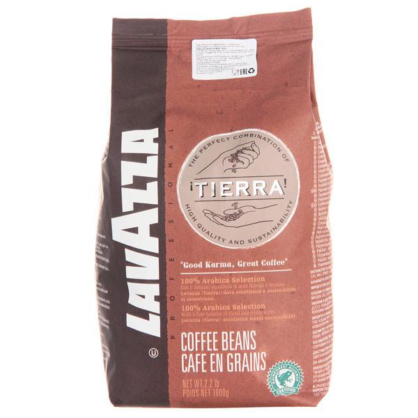 Кофе в зернах Lavazza Tierra 1кг кофе rioba platinum жаренный в зернах 100% арабика
