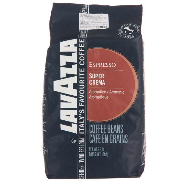 Кофе в зернах Lavazza Super Crema 1000 г