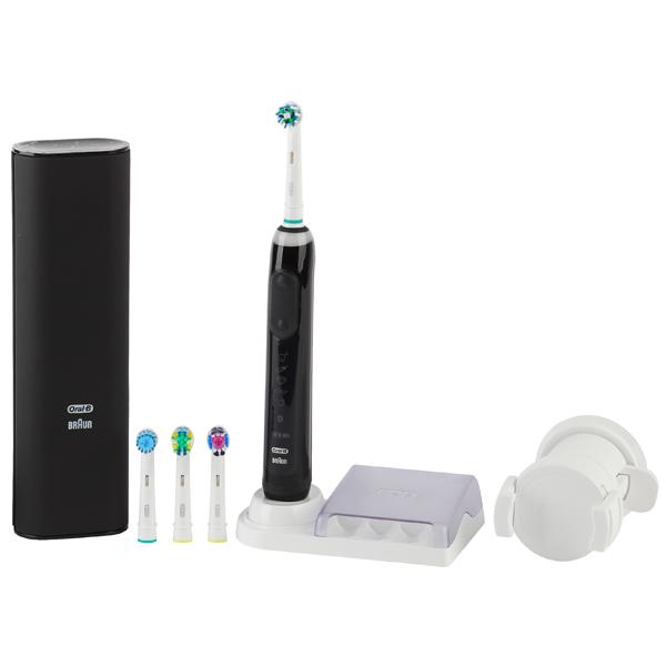 Электрическая зубная щетка Braun Oral-B Genius 9000/D701.545.6XC Black