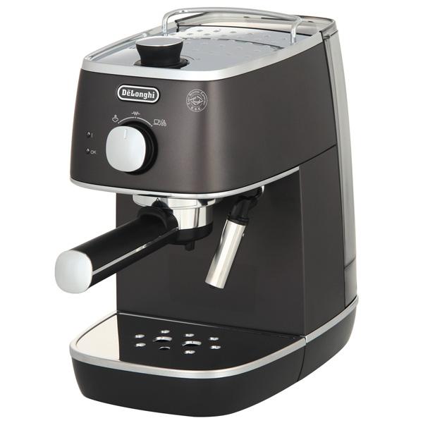 Кофеварка рожкового типа De Longhi ECI341.BK электрочайник de longhi kbi2000 bk