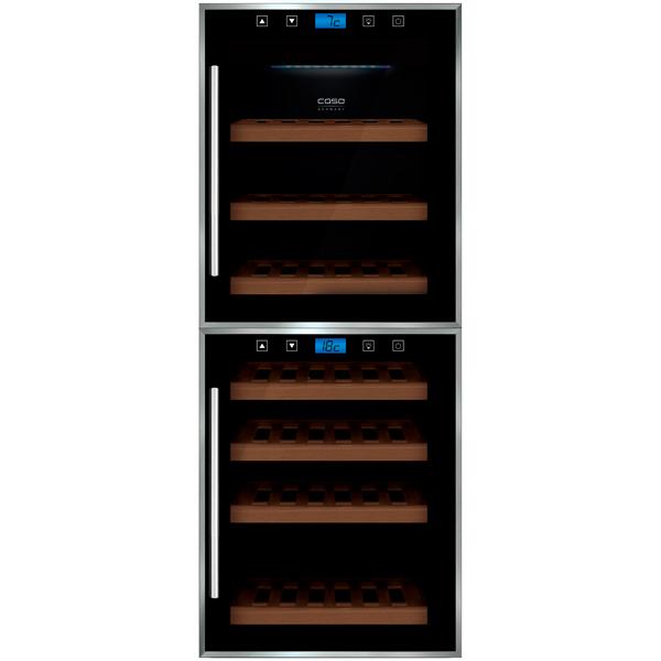Винный шкаф до 140 см Caso WineMaster Touch 38-2D винный шкаф caso winemaster touch 38 2d черный