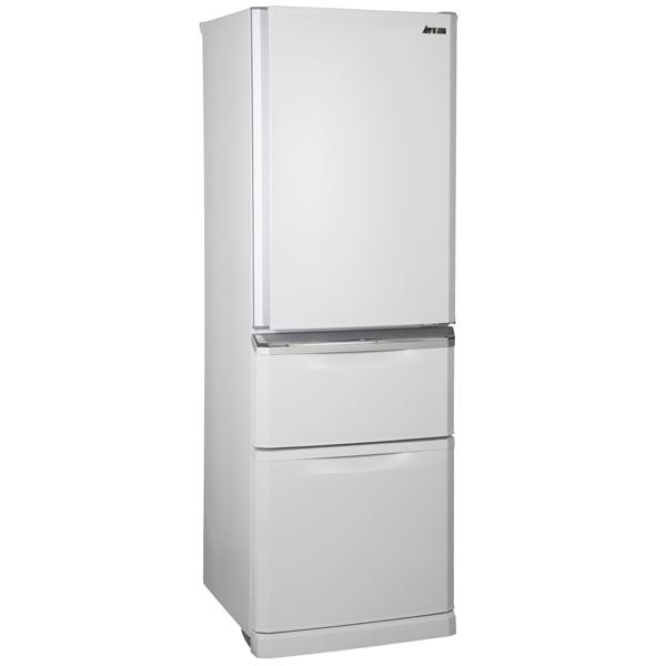 Холодильник с нижней морозильной камерой Mitsubishi Electric MR-CR46G-PWH-R очиститель воздуха mitsubishi electric ma e83h r1
