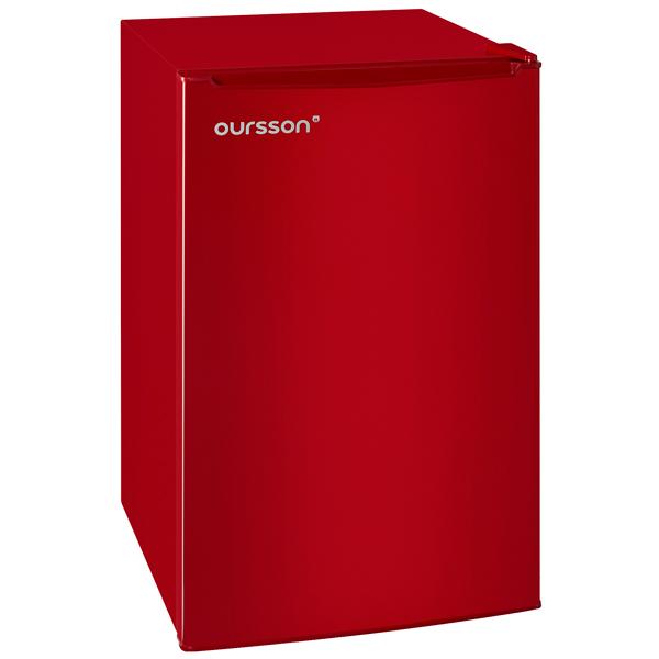 Холодильник однодверный Oursson RF 1005/RD холодильник однодверный oursson rf 1005 rd