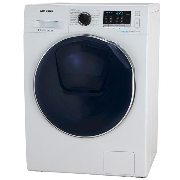 Стиральная машина с сушкой Samsung — WD80K5410OW