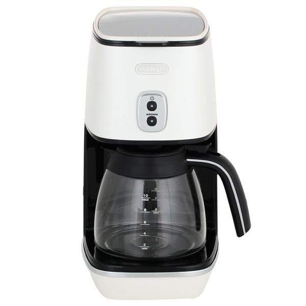 Кофеварка капельного типа De Longhi ICMI211.W электрочайник de longhi kbi2000 bk