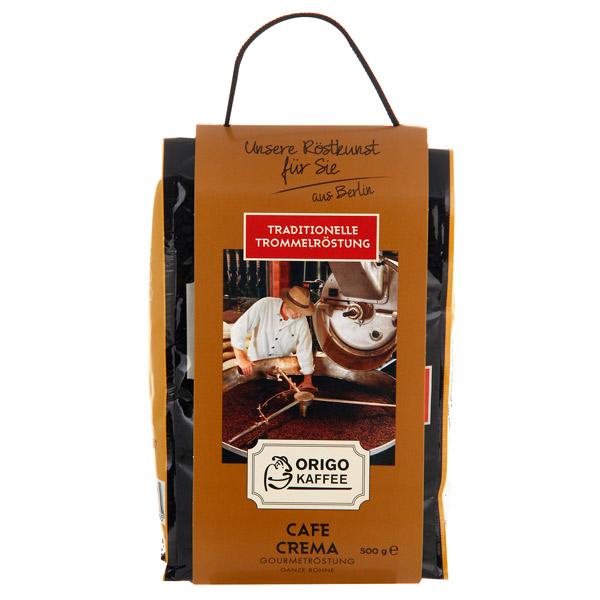 Кофе в зернах ORIGO Kaffee Cafe Crema Gourmetrostung 500 г