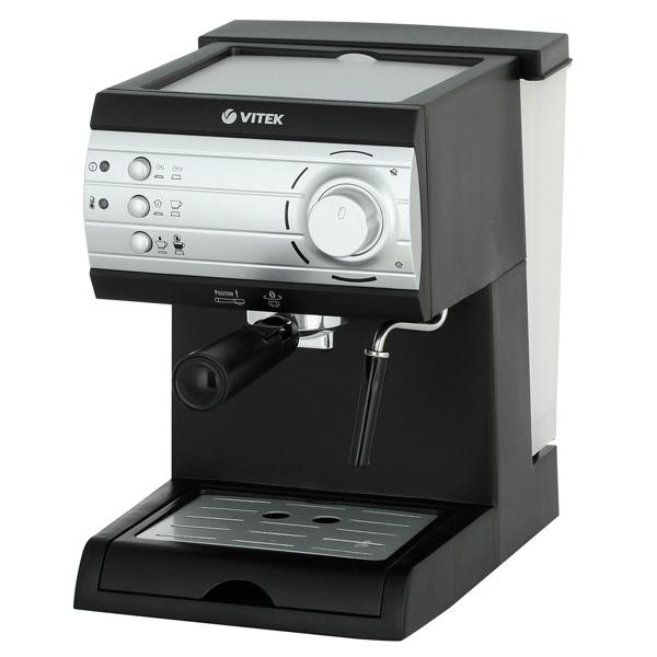 Кофеварка рожкового типа VITEK VT-1519 BK цена и фото
