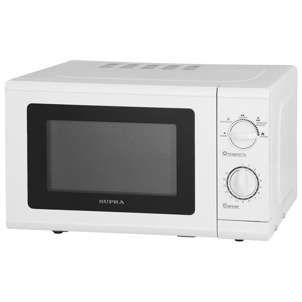 Микроволновая печь соло Supra MWS-2108MW свч supra mws 1808mw 18 л белый