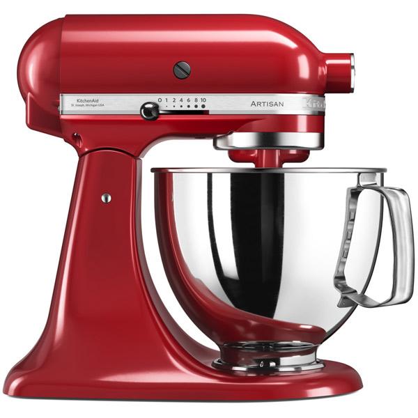 Кухонная машина KitchenAid 5KSM125EER kitchenaid набор круглых чаш для запекания смешивания 1 4 л 1 9 л 2 8 л 3 шт кремовые