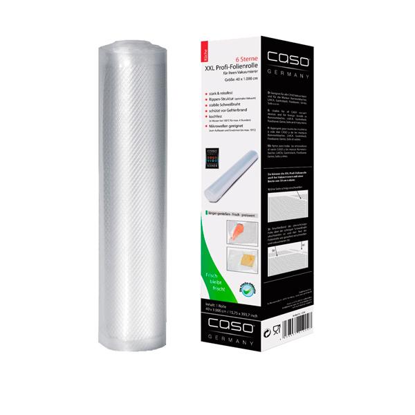 Рулон для вакуумного упаковщика Caso 40x1000 см (1224) рулон caso 40x1000cm