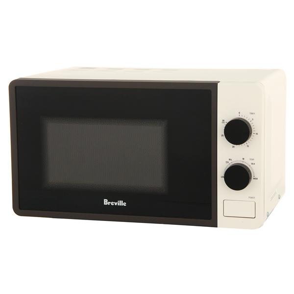 Микроволновая печь соло Breville W365 белого цвета