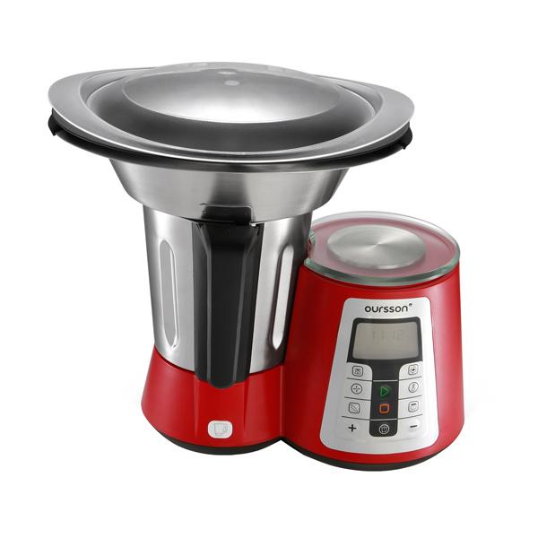 Кухонная машина Oursson KM1010HSD/RD блендер oursson hb4040 rd