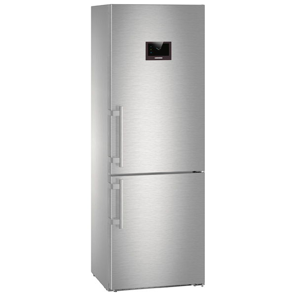 Холодильник с нижней морозильной камерой широкий Liebherr CBNPes 5758-20