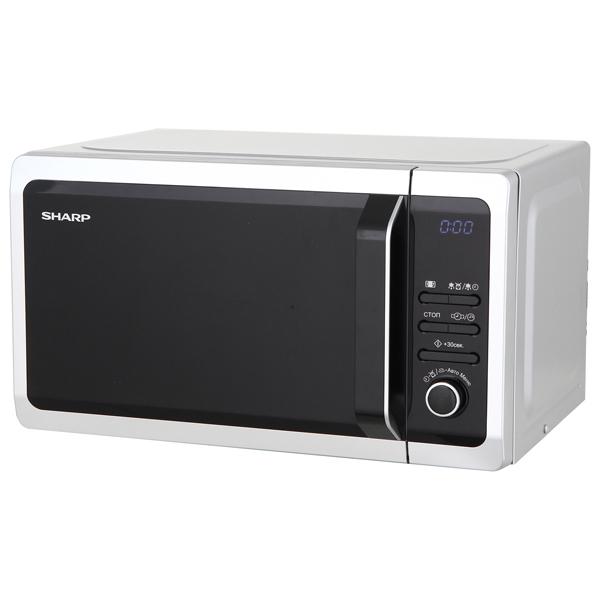 Микроволновая печь соло Sharp R2852RSL микроволновая печь sharp r 2000rw 800 вт белый черный