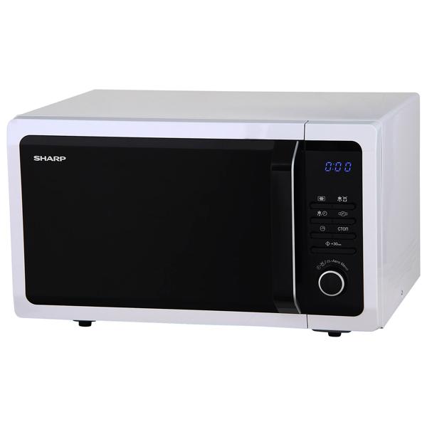 Микроволновая печь соло Sharp R3852RW микроволновая печь sharp r 2000rw 800 вт белый черный