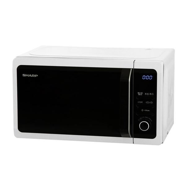 Микроволновая печь с грилем Sharp R6852RW цены онлайн