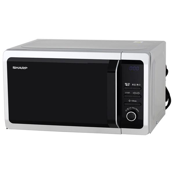 Микроволновая печь с грилем Sharp R6852RSL цены онлайн