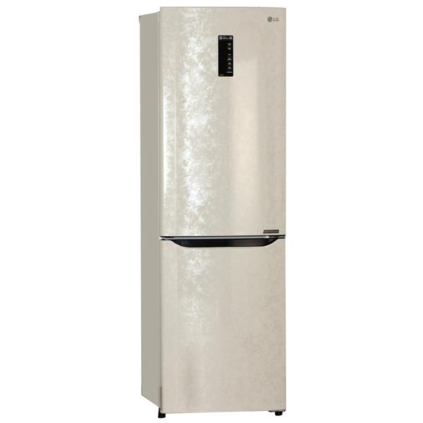 Холодильник с нижней морозильной камерой LG GA-M429SERZ холодильник с морозильной камерой lg ga b409smca silver