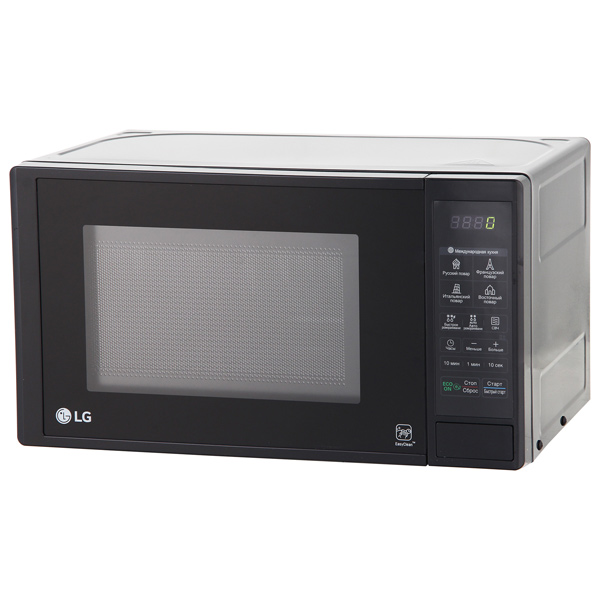 Микроволновая печь соло LG MS20M47DB lg mb65w95gih white свч печь с грилем
