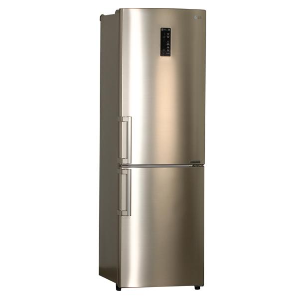 Холодильник с нижней морозильной камерой LG GA-M549ZGQZ холодильник с морозильной камерой lg ga b409smca silver